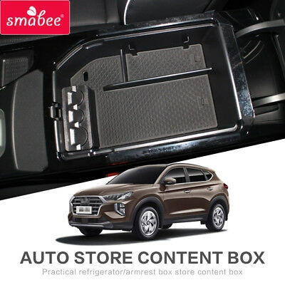 for hyundai tucson 2020 car central armrest box storage box accessories store ebay Hyundai Tucson Accessories