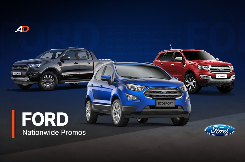 ford promos in the philippines you could avail today autodeal Ford Philippines Promo