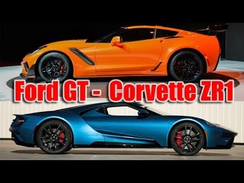 fresh ford gt and chevrolet corvette zr1 2019 Corvette Zr1 Vs Ford Gt