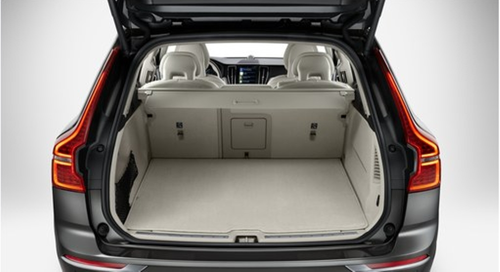 genuine volvo reversible cargo mat for xc60 2020 up Volvo Accessories Xc60