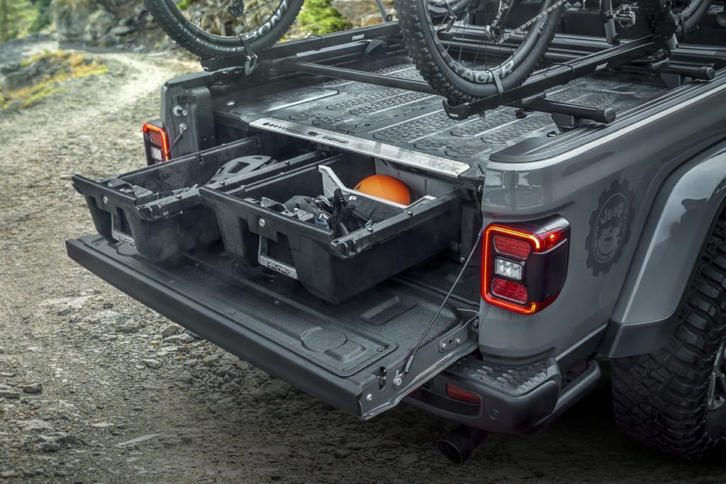 here are all the mopar accessories ready for the 2020 jeep Jeep Gladiator Mopar Accessories