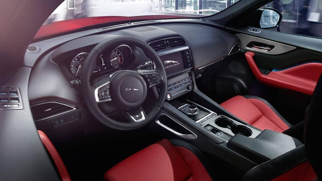 highlighting the 2018 jaguar f pace interior Jaguar FPace Interior