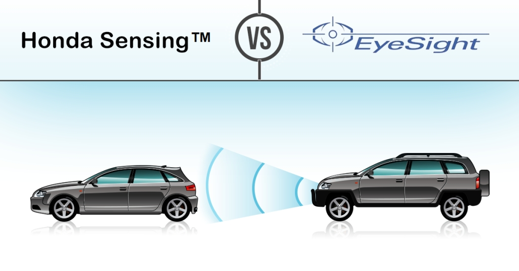 honda sensing vs subaru eyesight system japanese talk Subaru Eyesight Review