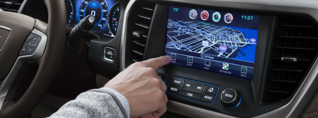 how do i use the gmc apps with my truck Gmc Infotainment System