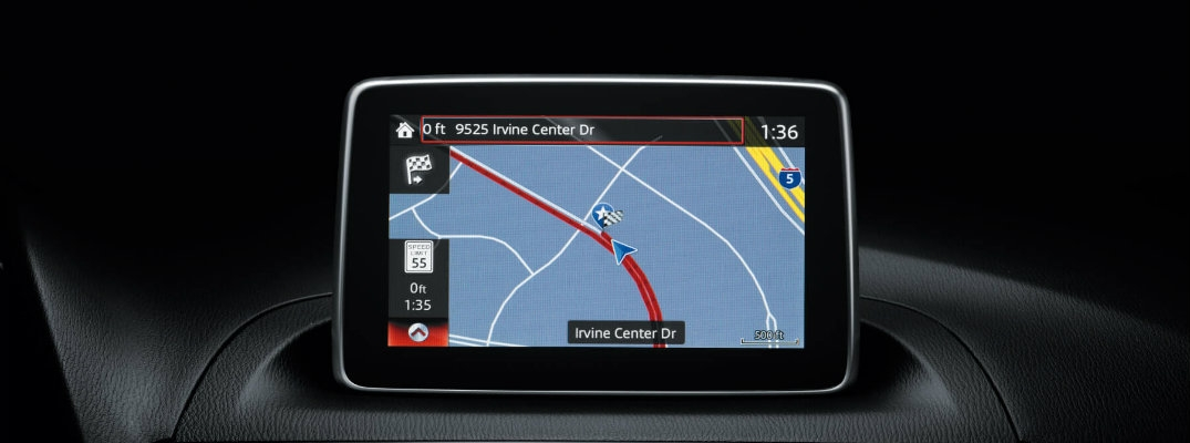 how to enter an address on mazda navigation using voice Mazda Navigation System
