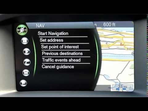 how to use the volvo sensus navigation system Volvo Navigation System