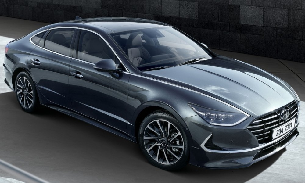 hyundai reveals sleek sonata redesign insider car news Hyundai Sonata Redesign