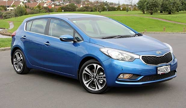 kia cerato hatch arrives at last stuffconz Kia Cerato New Zealand