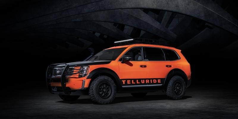 kia could leverage the 2020 telluride with sema inspired Kia Telluride Accessories