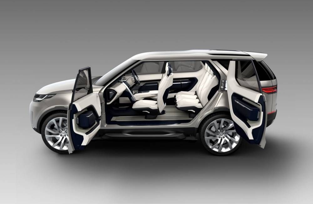 land rover discovery vision il voit loin cars land Jaguar Land Rover Vision
