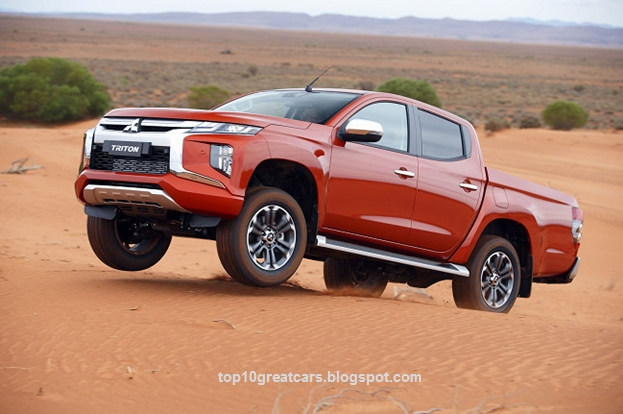 latest 2019 mitsubishi l200 pickup truck is stronger than it Mitsubishi Pickup Truck