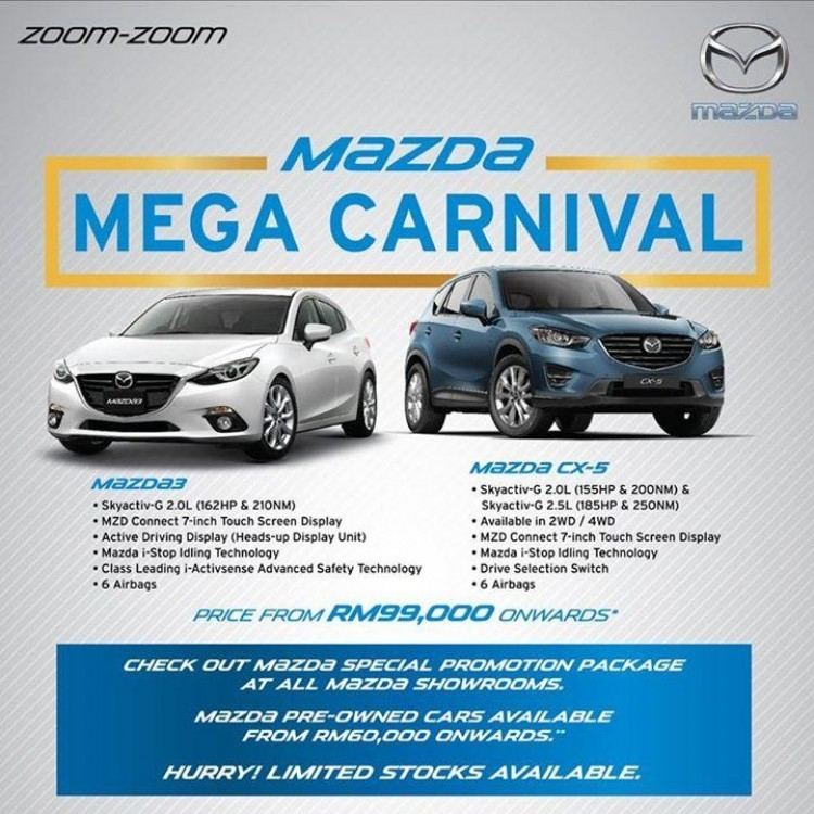 mazda special promotion package loopme malaysia Mazda Malaysia Promotion