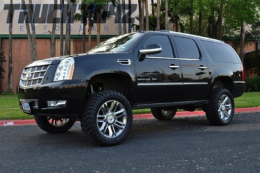 mcgaughys 9 lift kit chevy tahoe 1500 4wd 2020 2020 auto leveling 50735 Cadillac Escalade Lift Kit