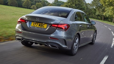 mercedes a class saloon 2020 review suited and booted Mercedes A Class Review