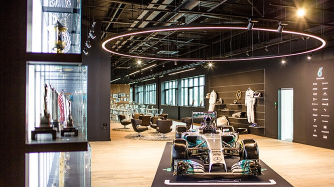 mercedes amg petronas motorsport brackley Mercedes F1 Factory Tour