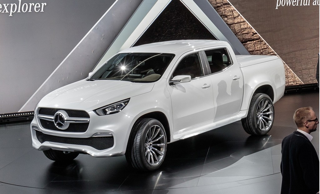mercedes benz hops into beds with new x class pickup truck Mercedes XClass Pickup Truck