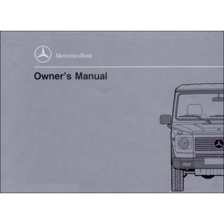mercedes benz manual 300 ge owners manual w463 Mercedes Owners Manual