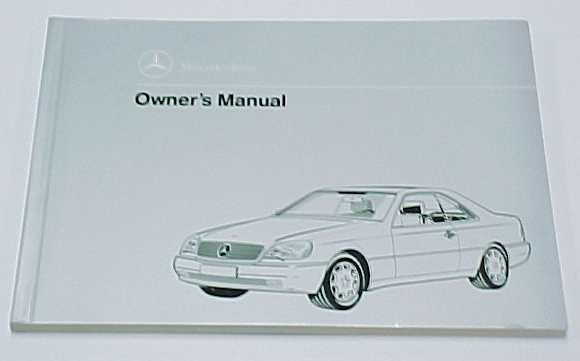 mercedes benz passenger car literature Mercedes Owners Manual
