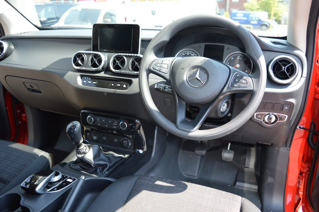 mercedes benz x class pure review professional pickup magazine Mercedes X Class Interior