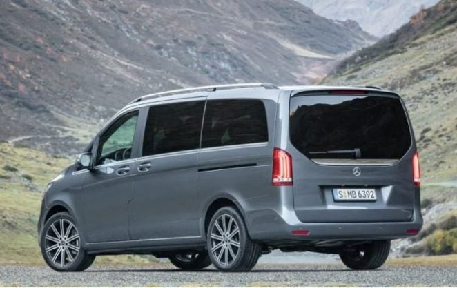 mercedes v class van gets a facelift in time for the geneva Mercedes V Class Facelift