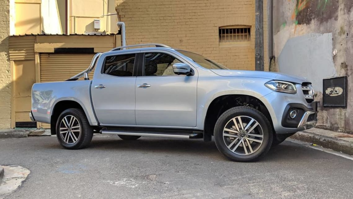mercedes x class power x250d ute 2018 review carsguide Mercedes X Class Review