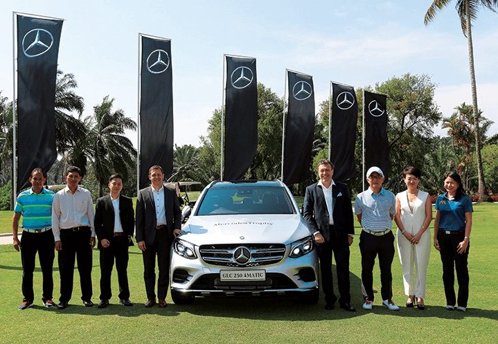 mercedestrophy tees off in malaysia on march 29 the edge Mercedes Trophy Malaysia