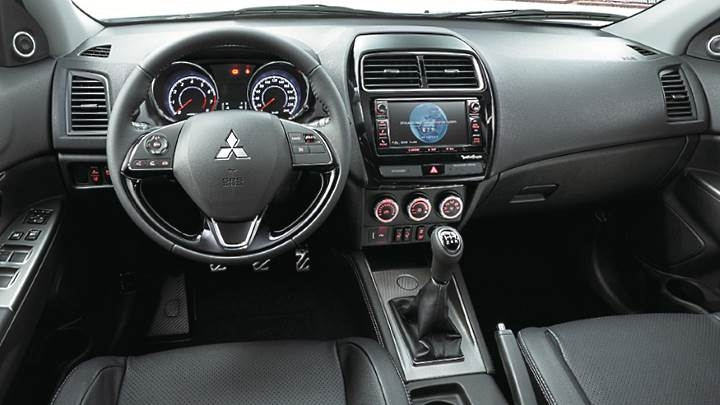 mitsubishi asx 2020 dimensions boot space and interior Mitsubishi Asx Interior