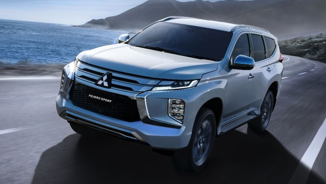 mitsubishi pajero sport 2020 uncovered new look and added Mitsubishi Pajero New Model
