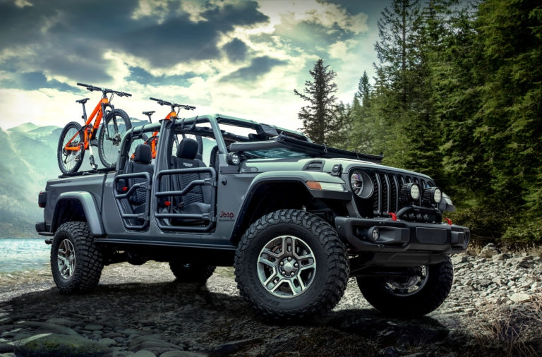 mopar to offer 200 plus products for all new 2020 jeep Jeep Gladiator Mopar Accessories