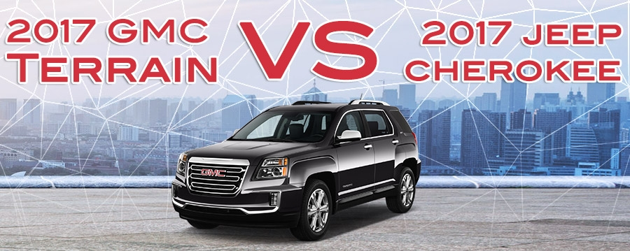 new 2016 jeep cherokee vs 2017 gmc terrain for sale Gmc Terrain Vs Jeep Cherokee