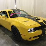new 2018 dodge challenger srt hellcat rwd 2d coupe Yellow Dodge Challenger