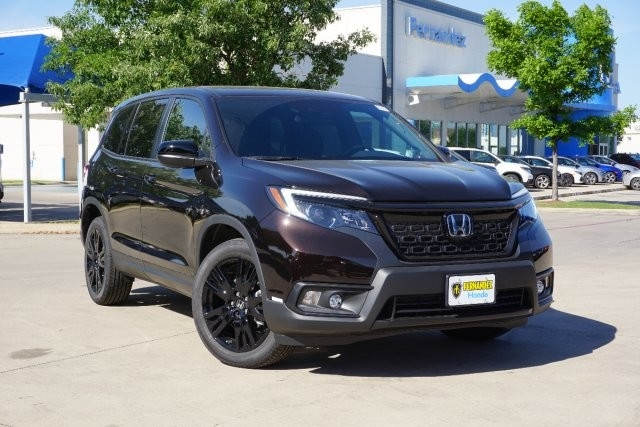 new 2020 honda passport sport front wheel drive suv Honda Passport Pictures