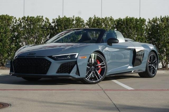 new 2020 audi r8 spyder kemora gray car for sale wua4bcfx5l7900392 Audi R8 V10 Performance