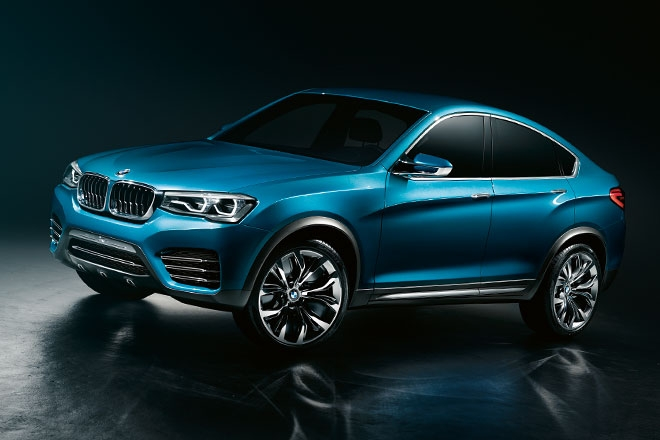 new bmw x4 breaks cover ahead of shanghai preview upcoming Bmw Upcoming Cars In India