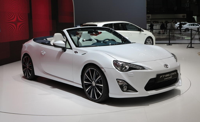 new toyota gt86 convertible concept heading to tokyo motor Toyota Gt86 Convertible
