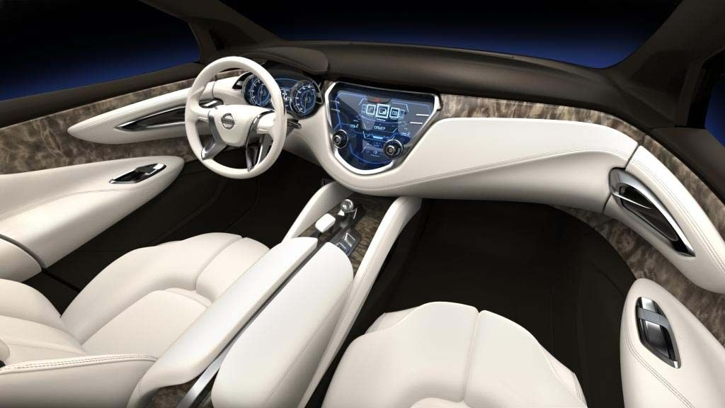 nissan resonance concept interior all things automotive Nissan Concept Interior