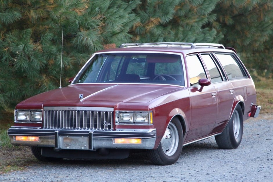 no reserve 1983 buick regal station wagon Buick Regal Station Wagon