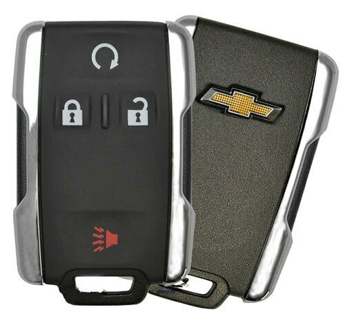 oem 14 19 chevrolet silverado colorado keyless remote key fob entry m3n32337100 Chevrolet Silverado Key Fob