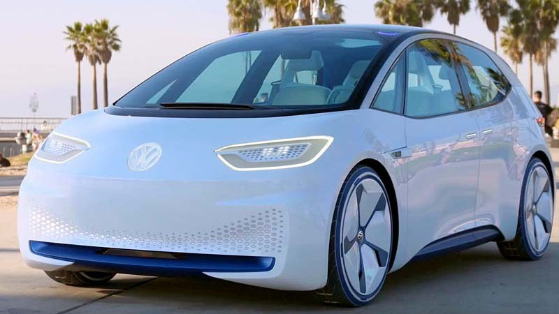 pre orders open 2019 for volkswagen id electric car the driven Volkswagen Electric Cars