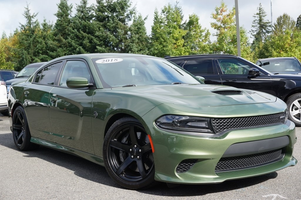 pre owned 2018 dodge charger srt hellcat rwd 4d sedan Dodge Charger Srt Hellcat