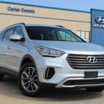 pre owned 2018 hyundai santa fe like new 3rd row suv with tons of warranty remaining front wheel drive suv Hyundai Warranty Santa Fe