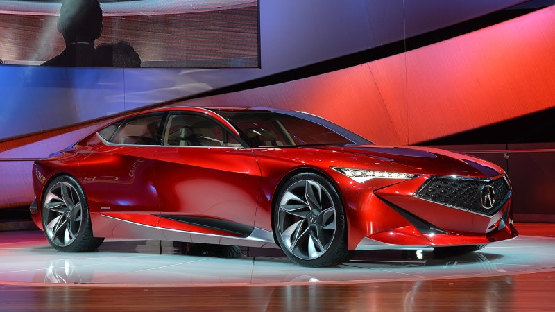 precision concept previews the future of acura design w Acura Precision Concept