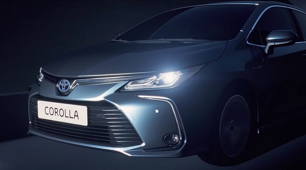 say hello to the new toyota corolla 2020 pictures Toyota New Model In Pakistan