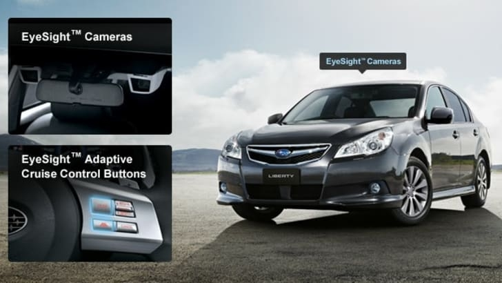 subaru eyesight review caradvice Subaru Eyesight Review