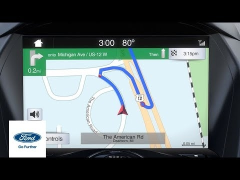 sync 3 navigation advanced features ford how to ford Ford Navigation System