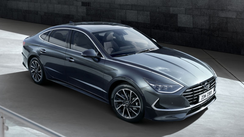 the 2020 hyundai sonata looks really sharp Hyundai Sonata Jalopnik
