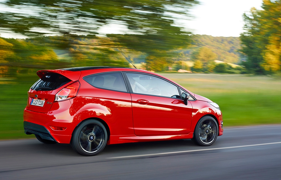the clarkson review ford fiesta zetec s red edition 2015 Ford Fiesta Zetec Review