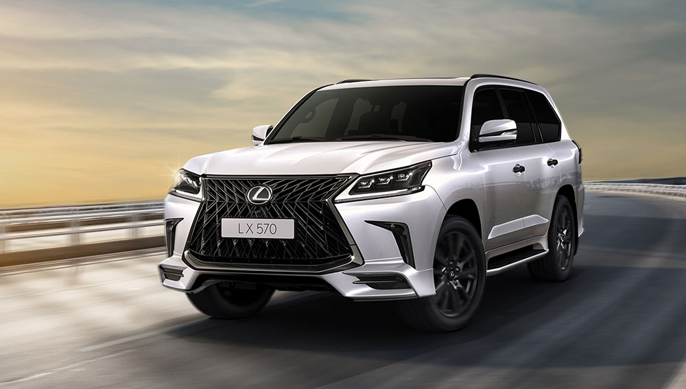 the lexus lx570 black edition s arrives in bahrain lexus Lexus Lx 570 Black Edition
