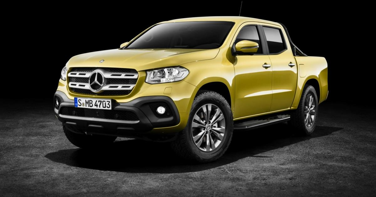 the mercedes benz x class pickup is finally here and it Mercedes XClass Pickup Truck