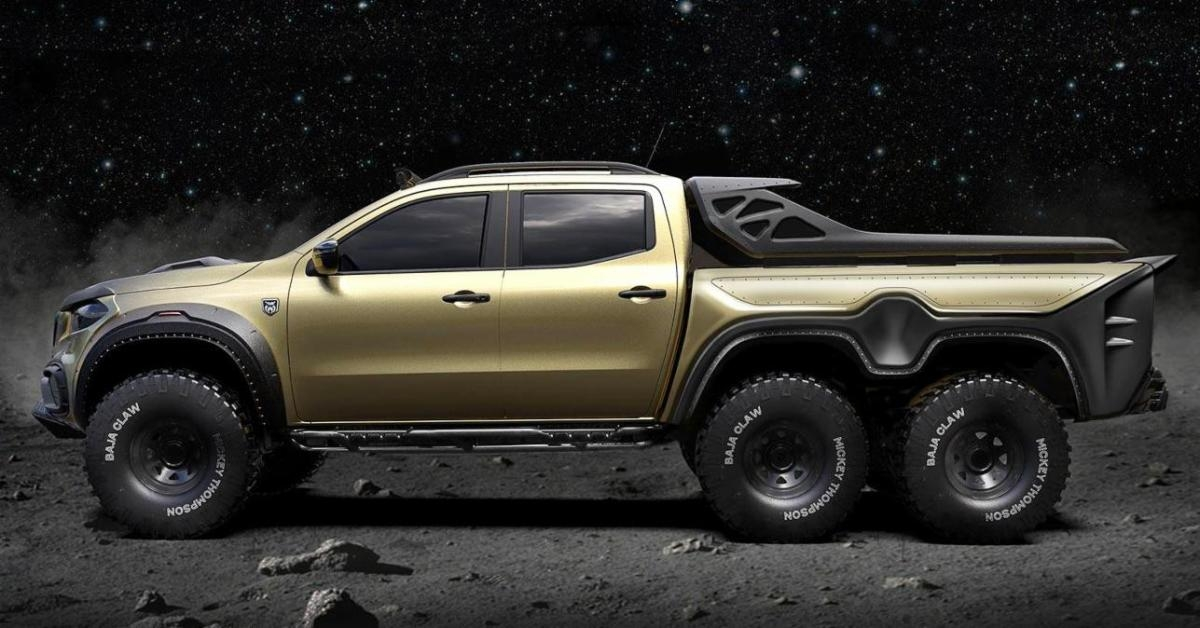 the mercedes x class concept pickup is an off roading Mercedes XClass Pickup Truck